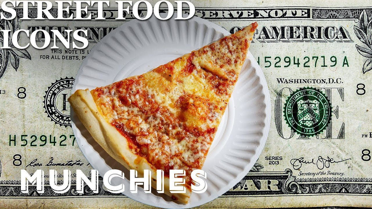 The Iconic Dollar Pizza Slice of NYC - Street Food Icons