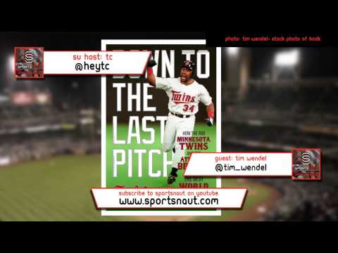 1991 World Series- Down to the Last Pitch With Tim Wendel | Sportsnaut Unfiltered Podcast