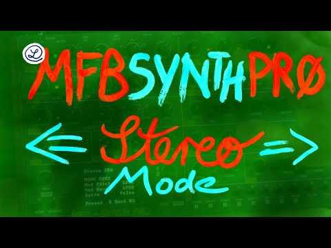 MFB SYNTH PRO  ///////   S T E R E O  \\\\\\\