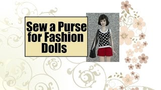 Free Barbie Purse Pattern and Sewing Tutorial