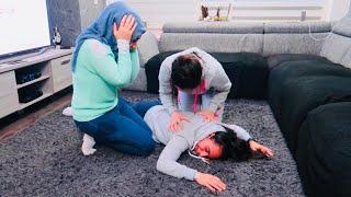 مقلب الموت في عائلة أم مروان | ماتوقعت هيك ردة فعلهم !!! Horror prank