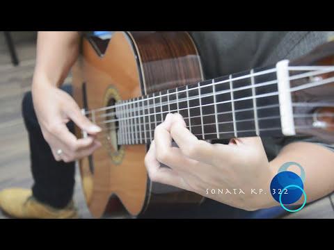 Sonata in A kp 322 by D. Scarlatti || ABRSM Guitar Grade 8 List A No. 8