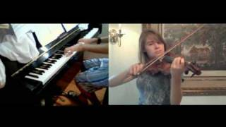 Chrono Cross Dream of the Shore Near Another World Violin and Piano (Collab with HollowRiku)