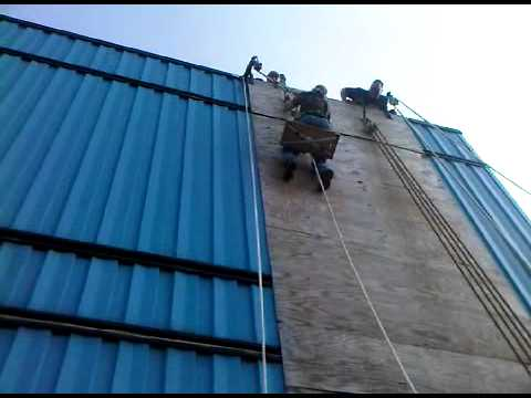 Electrician's Life: Local 3 IBEW Rigging Safety Training: Climbing the Wall