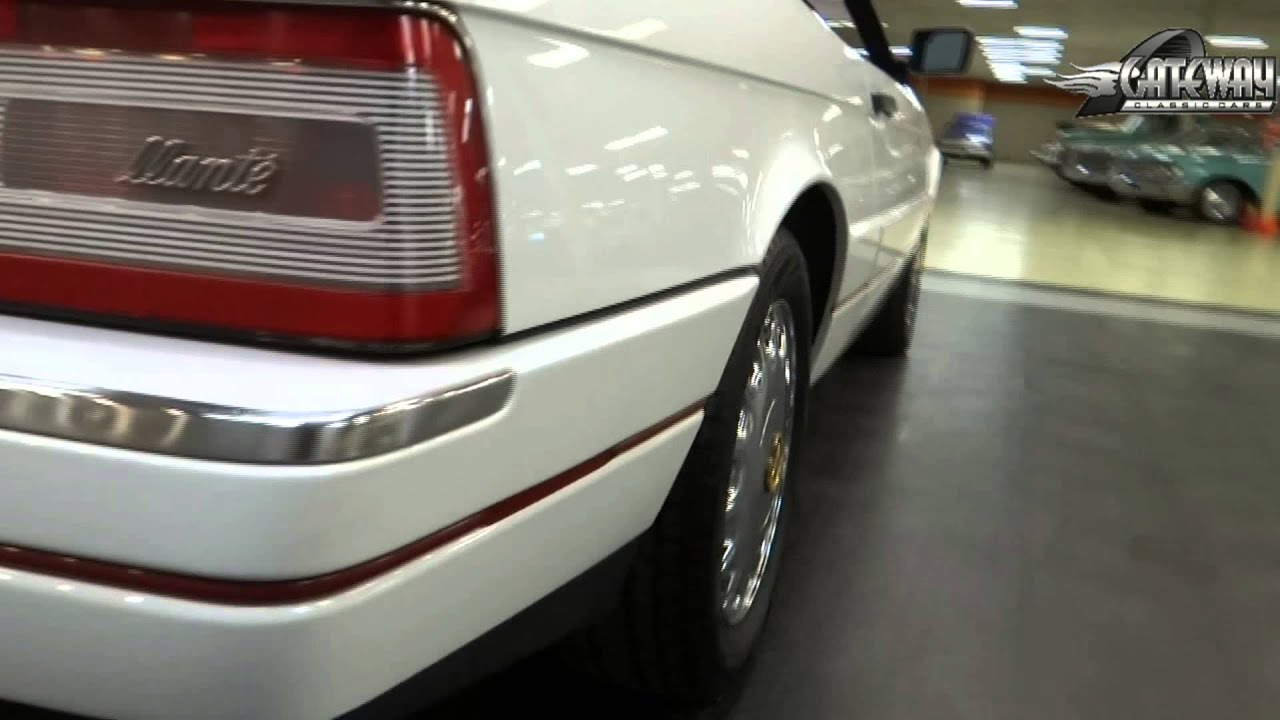 1991 cadillac allante for sale at gateway classic cars in our st louis mo showroom