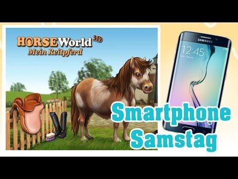 Smartphone Samstag   Horse World 3D   german