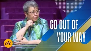 Go Out of Your Way | Pastor Elaine Flake | Allen Virtual Experience