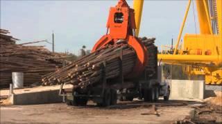 Fulghum 170 Log Crane