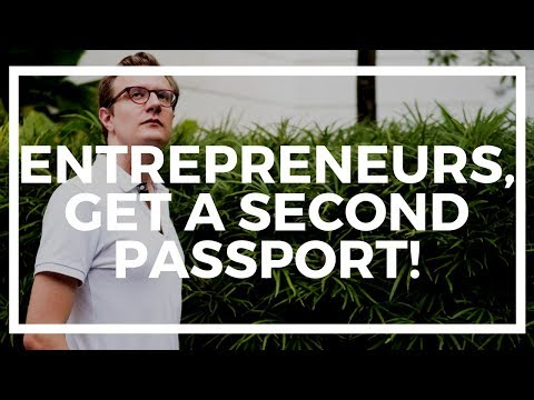 Scary reminder why every entrepreneur needs a second passport
