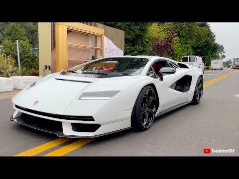 Download 2022 Lamborghini Countach LPI 800-4 Start Up & Driving Sound! FIRST EVER World Unveiling