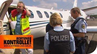 Krankentransport mit ukrainischem Privat-Jet! Dürfen Sie einreisen? | Achtung Kontrolle | kabel eins