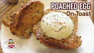 POACHED EGG ไข่ดาวน้ำ(ฝีมือพ่อบ้าน) How to cook perfect poach egg   Ann Hancock