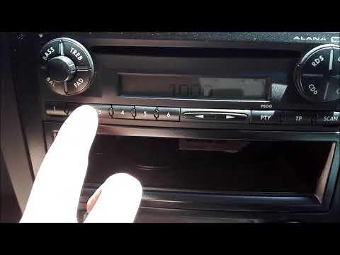 Pin seguridad radio CD Alana del Seat Córdoba / Ibiza