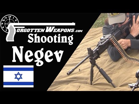 Shooting the Negev LMG