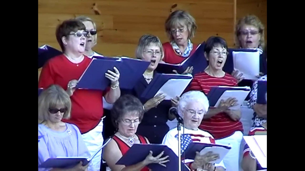 Rouses Point Community Choir & Strawhatters  7-3-10