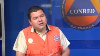 Tras gran actividad volcánica en Guatemala CONRED actualizó estatus del país