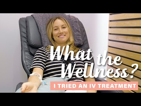 Vitamin IV Drip at Clean Market | What the Wellness | Well+Good