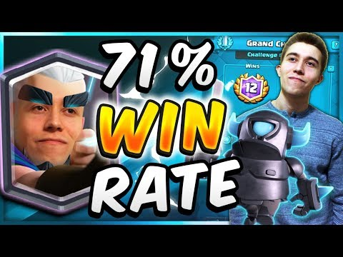 71% WIN RATE! Magic Archer Mini Pekka FAST Cycle Deck! — Clash Royale