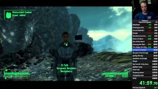 fallout 3 all quests dlc and bobbleheads speedrun in 3 51 23 1 3