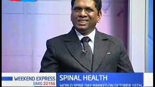 1Billion people suffer from back pain   Spinal Health