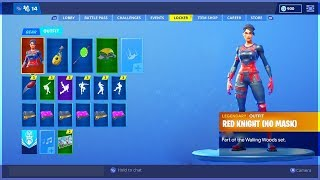 How To Unlock UNMASKED RED KNIGHT in Fortnite.. (Red Knight No Mask)