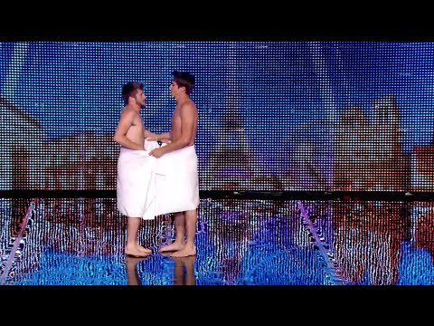 Les Beaux-Frères - France's Got Talent 2014 audition - Week 1