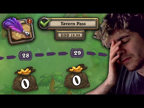 We need to talk about the Tavern Pass... - Hearthstone