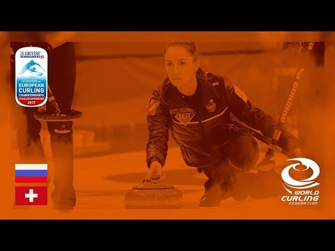 Russia v Switzerland - Women's Round-robin - Le Gruyère AOP European Curling Championships 2017