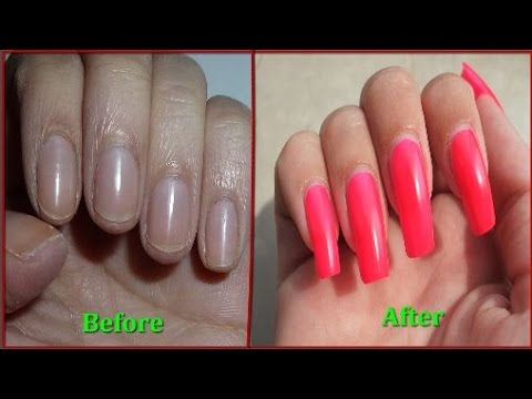 How To Make Nails Stronger And Grow Faster - With Proof ! - YouTube