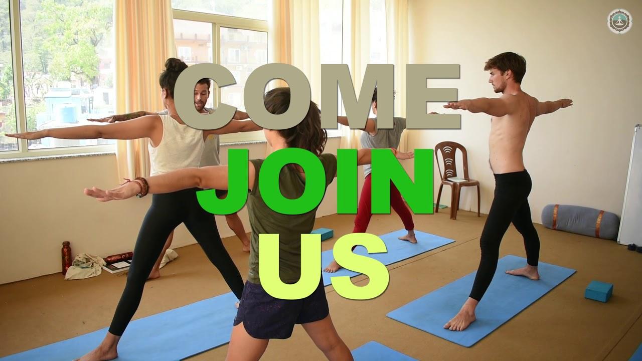 Maa Shakti Yog Yoga Teacher Training School In Rishikesh Youtube