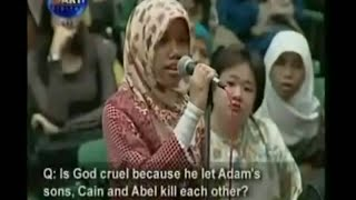 Why God Lets Adam Sons Cain & Abel Kill Each Other - Dr Zakir Naik Peace Conference Singapore 1998