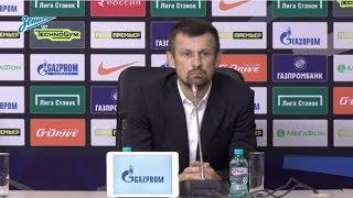 «Зенит» — «Спартак»: послематчевая пресс-конференция Сергея Семака