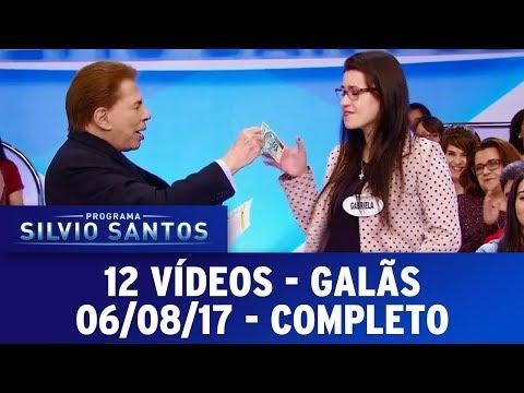 12 Vídeos - Galãs | Programa Silvio Santos (06/08/17)