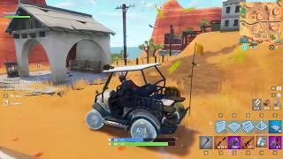 "Fortnite how to do ""ice"" skin on golf car"