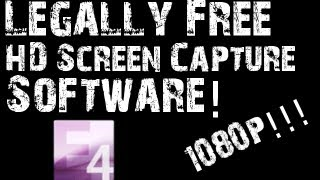 The Best Free 1080p HD Screen Recorder | HD Voice Review/Tutorial
