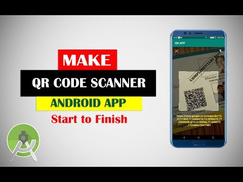 Make Android QR Code Scanner App From Scratch    Android Studio Projects Tutorial For Beginners