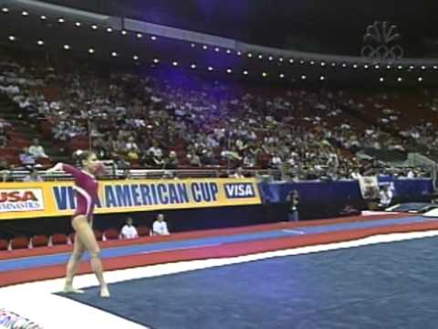 Courtney Kupets - Floor Exercise - 2002 Visa American Cup