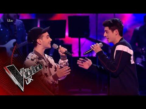 Harri Oakland VS Ross Anderson - 'September Song': The Battles | The Voice UK 2018