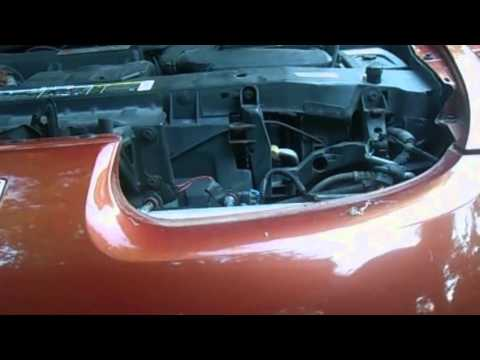 Saturn Headlight Assembly Replacement