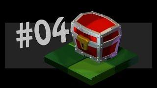 Isometric Treasure Chest Modelling  #04 (Speed Art in Blender)