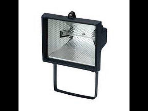 Changer Ampoule Projecteur Halogene Exterieur