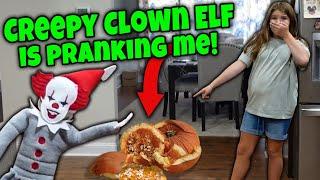Halloween Creepy Clown Elf Plays Tricks On Us!