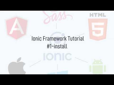 Ionic 4 Tutorial #Part1 thumbnail