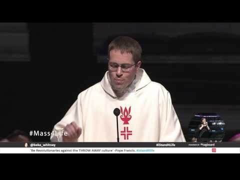 Youth Rally and Mass for Life Homily | Fr. Conrad Murphy | Verizon Center