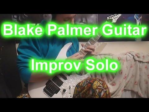 Blake Palmer Guitar Improvised Shred Solo