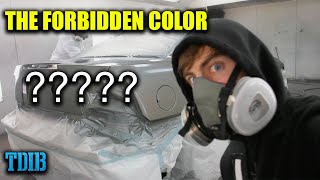 "homepage tile video photo for Painting The RAREST Ford Color in The World! (The ""Forbidden"" Production Color)"