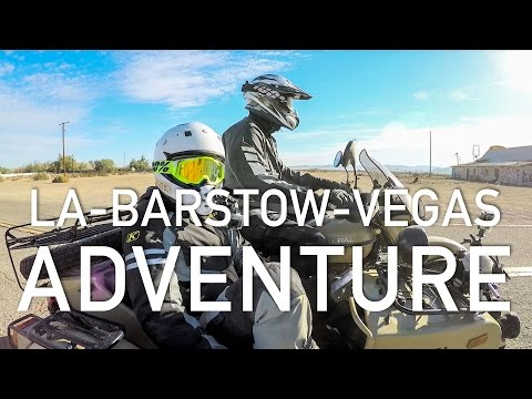 Ural Adventure - LA to Barstow to Vegas 2016 at RevZilla.com