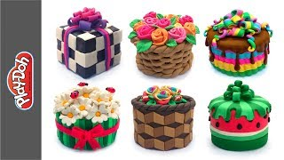 Best Play Doh Cakes 2. Video Compilation DIY How to Make Dolls Food. Funny