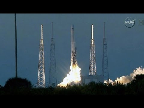 SpaceX successfully launches rocket after third attempt