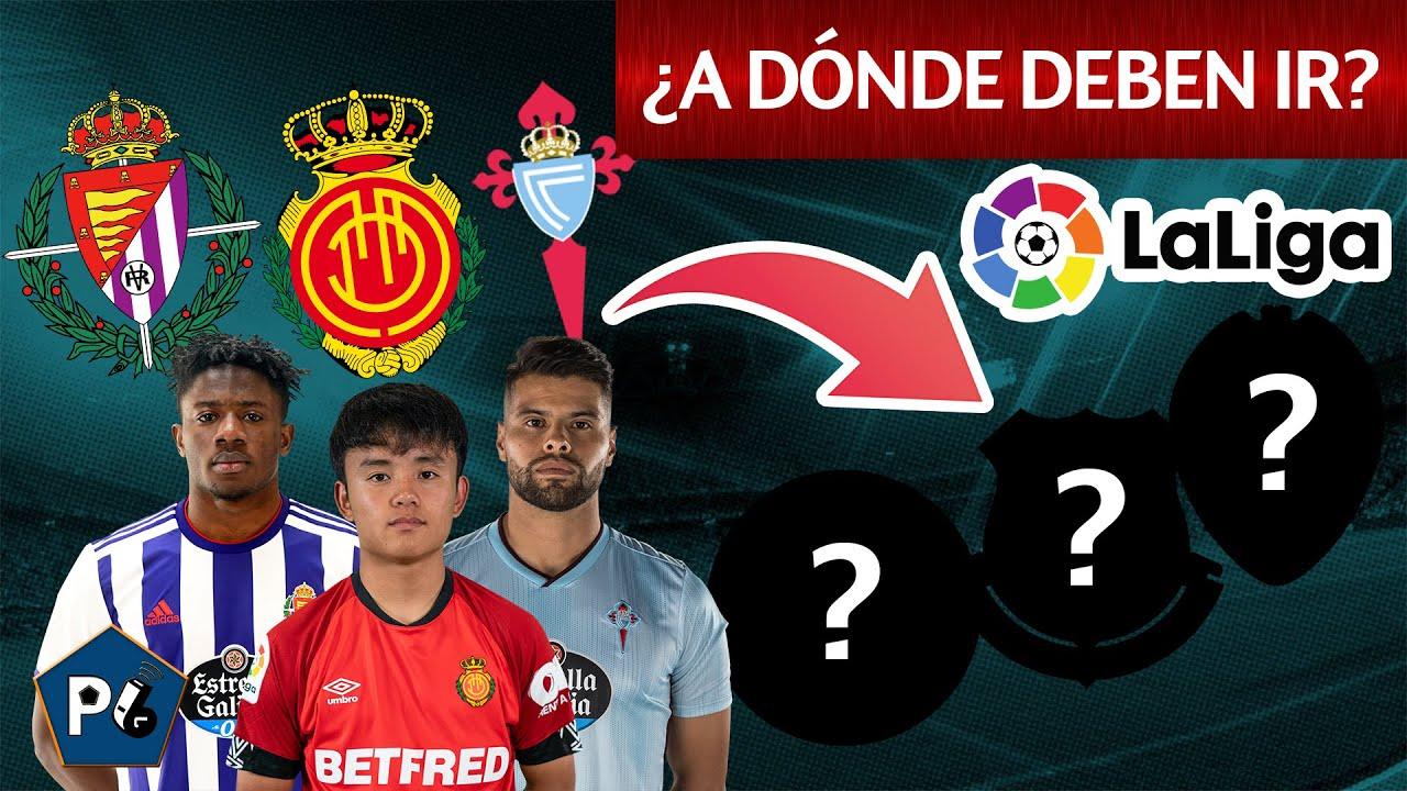 9 jugadores BUENOS en EQUIPOS MALOS de la LIGA ESPAÑOLA ¿A dónde deberían ir?